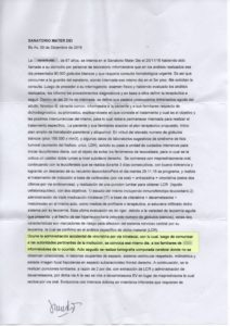 Informe Pombo - Sanatorio Mater Dei