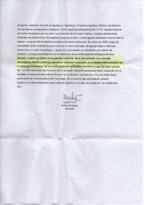 Informe Pombo 2 - Sanatorio Mater Dei